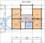 Проект Классик - План 2 этажа
